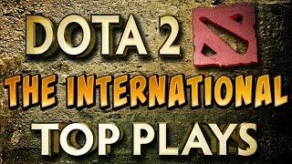 Dota 2 Top 10 Pro Plays Main Event TI5