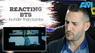 VOCAL COACH reacts to BTS singing LOUDER THAN BOMBS