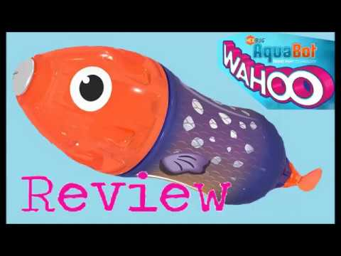 HEXBUG AquaBot™ Wahoo Unboxing And Review