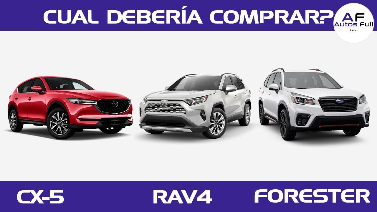 Download Mazda CX 5 - Toyota Rav4 - Subaru Forester | Cual debería Comprar?