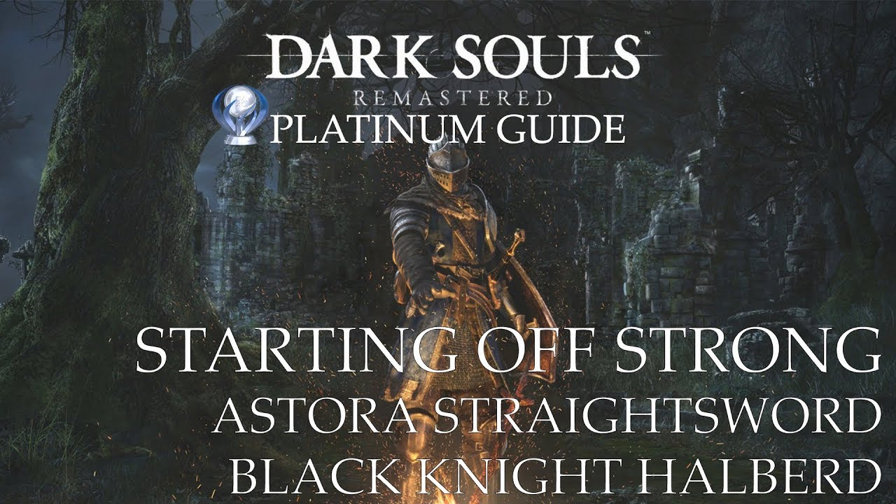 Overpowered at the start of the game (Faith) - Dark Souls: Remastered Platinum Walkthrough (Part.2)