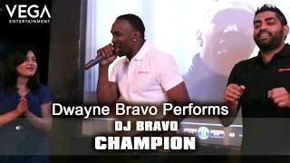 Dwayne Bravo Performs On Dj Bravo Champion