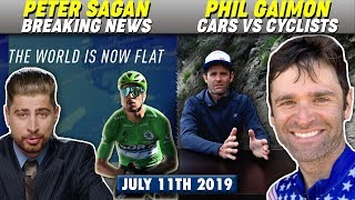 Peter Sagan Delivers Breaking News in Funny Ad! Phil Gaimon's video on Cars vs Cyclists goes VIRAL!