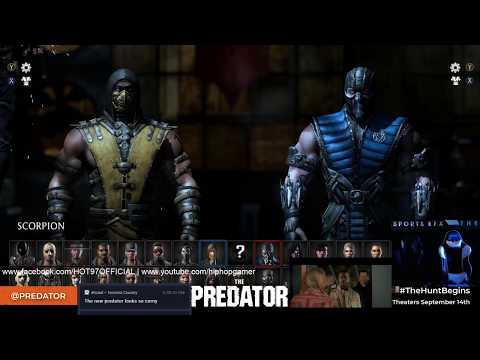 MORTAL KOMBAT X - Predator Battle Tournament | HipHopGamer