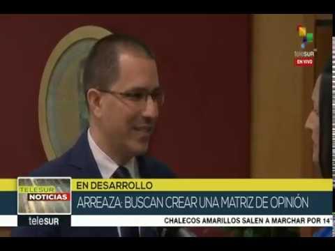 Jorge Arreaza denuncia: Samuel Moncada fue restringido a Nueva York y no puede ir a Washington