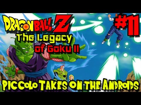 Piccolo Takes on the Androids! | Dragon Ball Z: The Legacy of Goku II - Episode 11