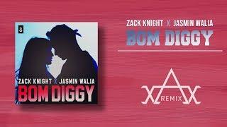 Zack Knight X Jasmin Walia - Bom Diggy (AVIREXX REMIX)