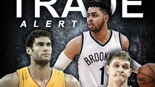 Lakers Trade D'Angelo Russell, Mozgov for Brook Lopez! Clears Space for Paul George!