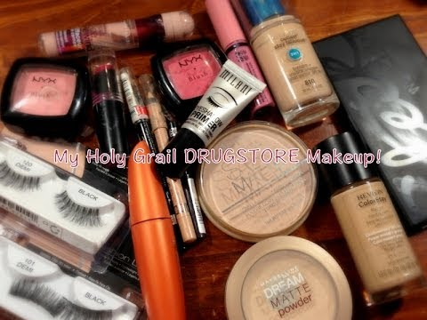 top drugstore makeup holy grail must haves 2014 youtube. Black Bedroom Furniture Sets. Home Design Ideas