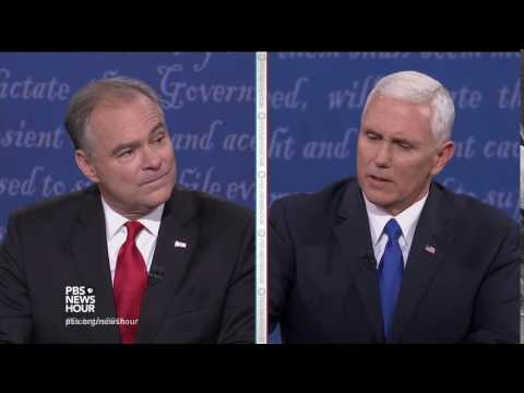 2016 VP Debate