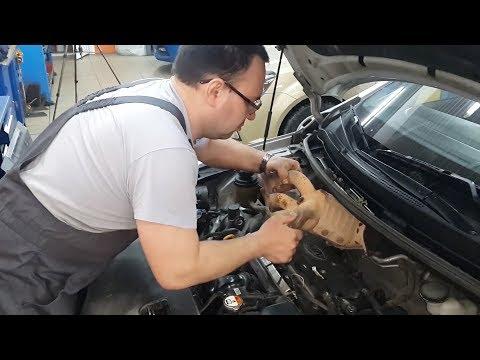 Замена катализатора Hyundai Solaris / Kia Rio