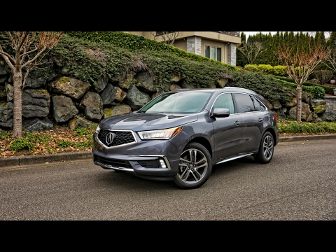 2017 Acura Mdx Sh Awd Advance Car Review