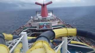 Carnival Dream Water Slides