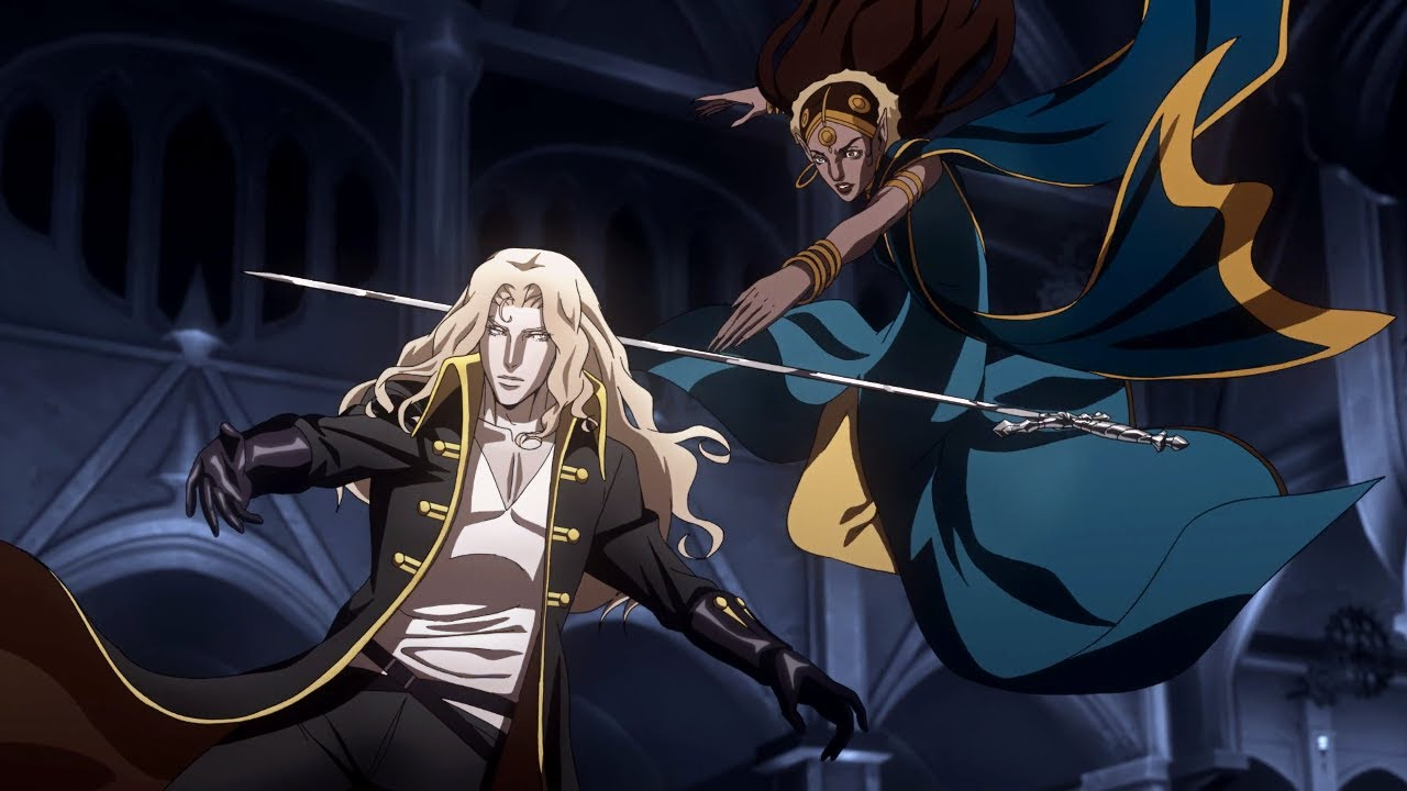 Download Alucard, Trevor and Sypha vs. Vampires part 2   Castlevania Season 2