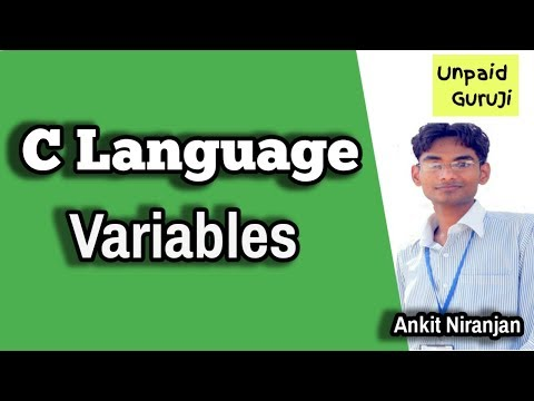 How to create variables in C Language | Programming C Tutorial thumbnail