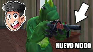 JUGANDO EL NUEVO MODO EXPLOSIVO EN FREE FIRE *gracioso* | TheDonato