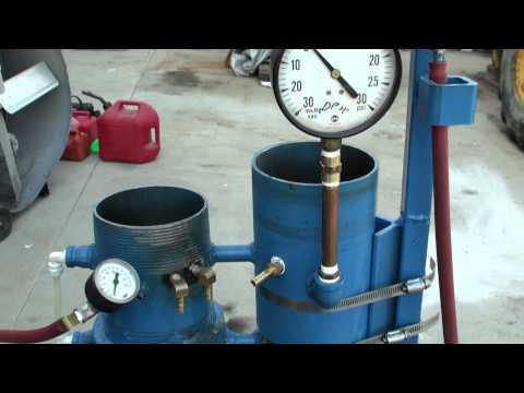 Gasoline Vapor Carburetor 1 Gallon Test Run 10-6-2011 Part 1 of 3
