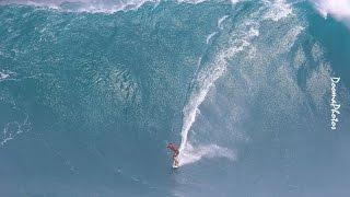 #BigWave #Paddle #Tow #Ski #Surfing #JawsPeahiMaui #SONY #4K