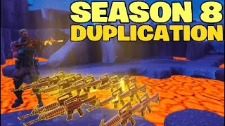 *NEW* Season 8 DUPLICATION GLITCH In Fortnite Save The World REAL OR FAKE !?!