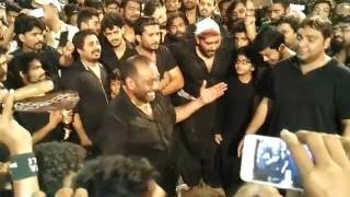 Salman Bhai Qama Matam on 12.10.16 at zainabia mumbai-Part 1