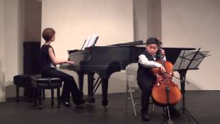 Ethan playing Concerto No. 5 1st Movement by F. Seitz
