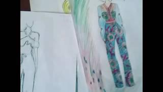 Fashion illustration of Jumpsuit