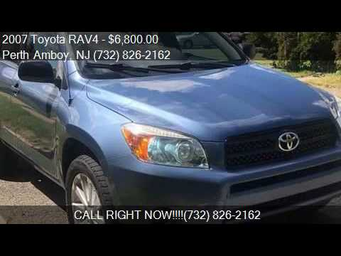 2007 toyota rav4 base 4dr suv 4wd i4 for sale in perth amboy youtube youtube