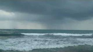 Sounds of Nature:  Rain and Ocean Waves ( No Music )
