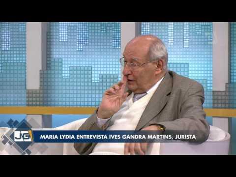 Maria Lydia entrevista Ives Gandra Martins, jurista