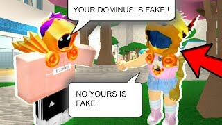 FAKE DOMINUS PRANK ON ROBLOX - France Roblox Prank (en)