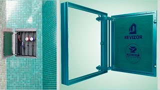 Сантехнический Люк-невидимка под плитку АлюКлик-М REVIZOR®(, 2015-03-10T12:03:27.000Z)