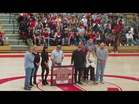 Clint Frazier Loganville High School Hall of Fame presentation