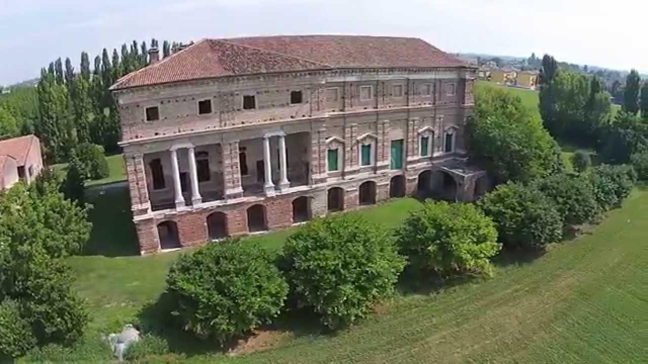 Villa favorita di porto mantovano mantova con dji for Villa la favorita mantova matrimonio