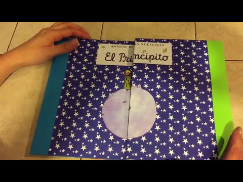 "Libro Desplegable ""El Principito"" - YouTube"