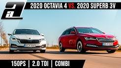 2020 Octavia vs. Superb | Der GROSSE Skoda Combi Vergleich | KAUFBERATUNG
