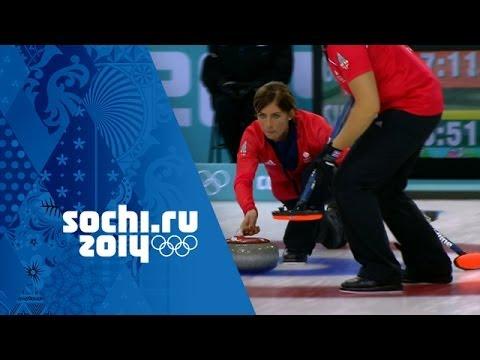 Curling - Women's Bronze Medal Game - Great Britain v Switzerland | Sochi 2014 Winter Olympics