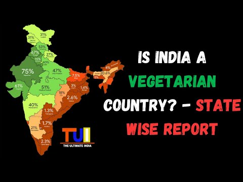 Is India a Vegetarian Country   State Wise Report   Let's Learn India   The Ultimate India