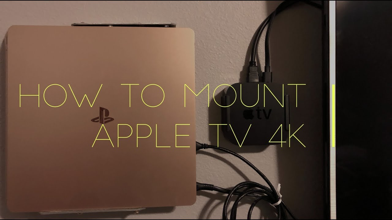 apple tv mount