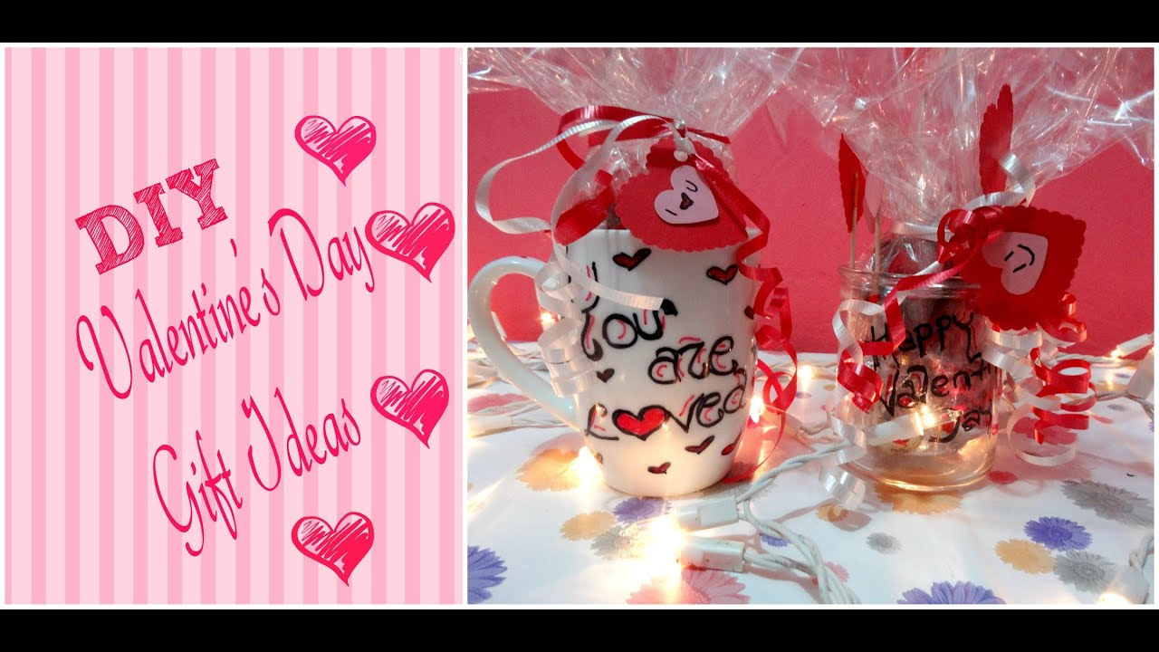 DIY Valentineu0027s Day Gift Ideas / DIY Sharpie Mug + Jar Of Hearts   YouTube