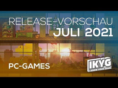 Games-Release-Vorschau - Juli 2021 - PC