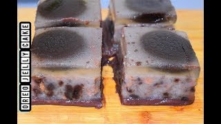 Oreo Jelly Cake   Oreo Dessert Recipe   No Bake Oreo Dessert