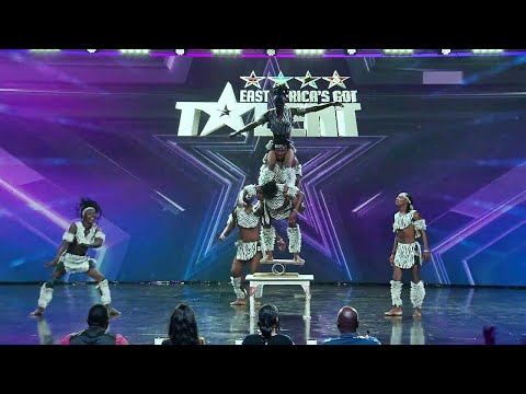 Warriors Acrobatics From Mombasa,Kenya on East Africa's Got Talent Performance   Africa's Got Talent