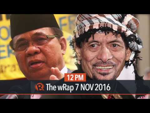 2 separate peace panels for MILF, MNLF-Nur
