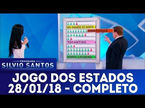 Jogo dos Estados - Completo | Programa Silvio Santos (28/01/18)