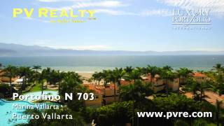 Puerto Vallarta Real Estate • PV Realty • Portofino N 703(Porto Fino-N 703, Marina Vallarta, Puerto Vallarta Real Estate.– Fully furnished 2 bedroom 2 bath condo located in the beachfront gated community of Porto ..., 2015-07-30T18:37:33.000Z)