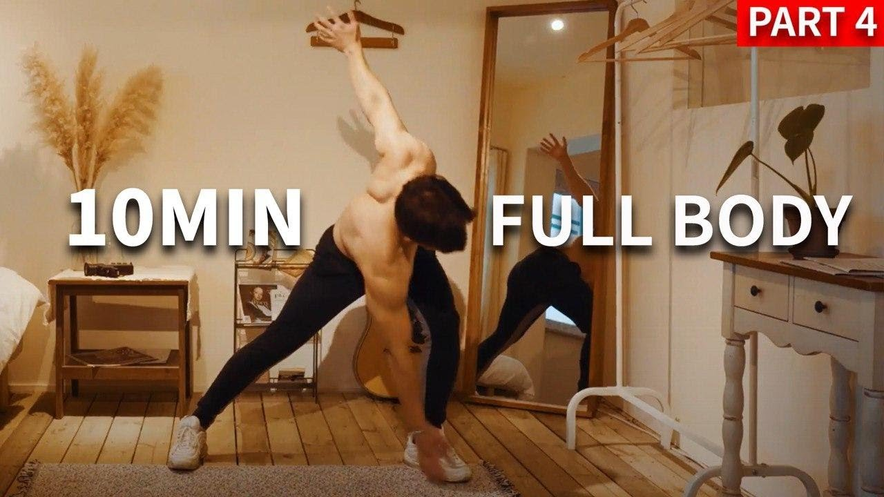 ENERGY BOOSTING FULLBODY 10 MIN WORKOUT l 에너지 부스터 10분 전신 운동