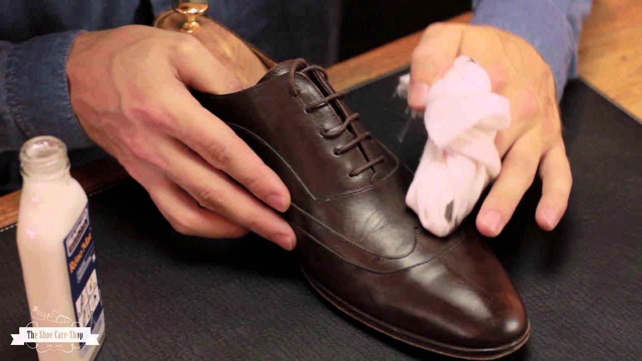 Leren of suede schoenen schoonmaken Distinctly Different