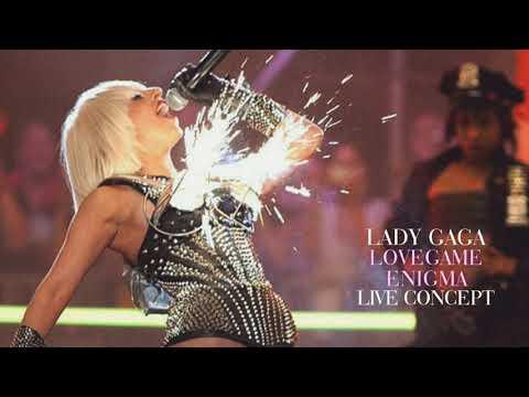 Lady Gaga - LoveGame (Enigma Live Concept)