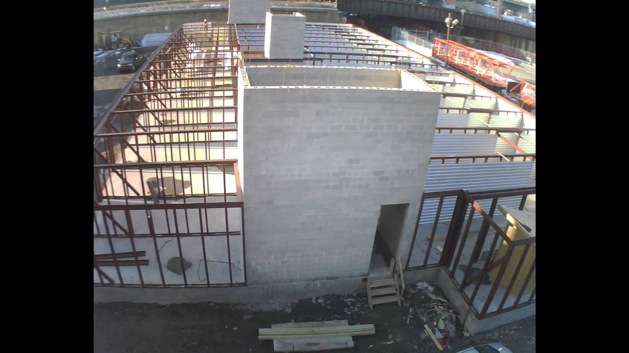 Time Lapse Construction Of NYC Mini Storage Addition