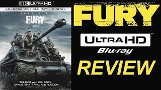 FURY 4K Bluray Review | Dolby Atmos